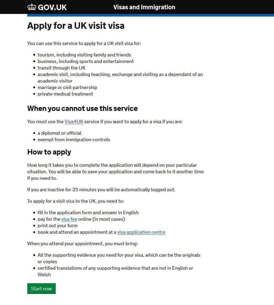 Скачать бланк визы в англию