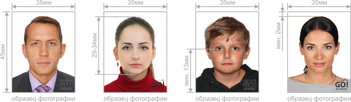 требования к фотографии на визу