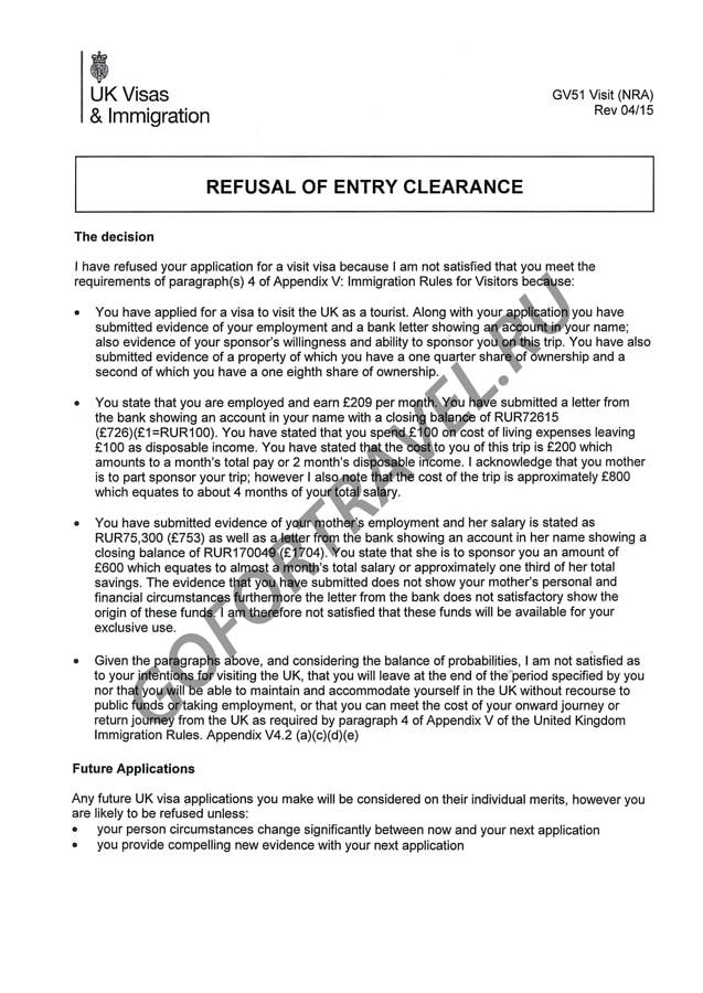 Образец Письма Об Отказе В Предоставлении Документов - фото 7