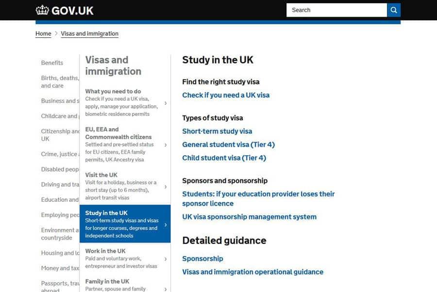 Виза в Великобританию | Типы и категории виз в Англию