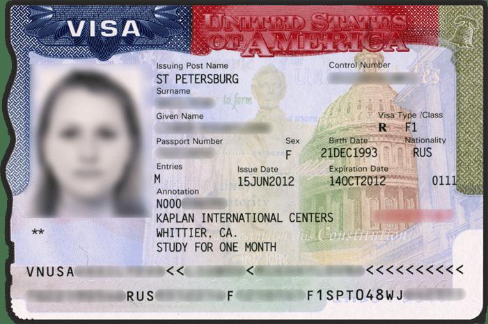 Описание основных типов визы в США – 2019